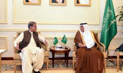 حرمین شریفین کی حرمت یا سلامتی کو کوئی خطرہ درپیش ہوا تو پاکستان سعودی عرب کے ساتھ کھڑا ہوگا، وزیر خارجہ شاہ محمود قریشی