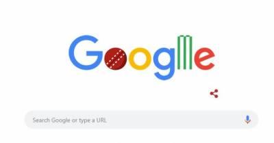 ورلڈکپ کا آغاز، گوگل بھی کرکٹ کے جنون میں مبتلا ہوگیا