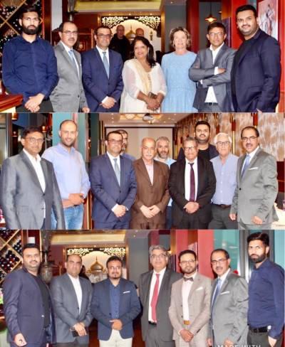 بزنس مین ابرار کیانی کا فرانسیسی اور ڈپلومیٹک کمیونٹی کے اعزاز میں افطار ڈنر