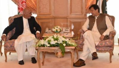 وزیراعظم کی افغان، مصری صدر سے ملاقاتیں,پاکستان اپنے ہمسائیہ ملک میں امن کے لیے اپنا کردار ادا کرتا رہے گا،عمرا ن خان