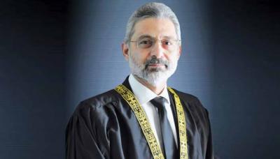 جسٹس فائز عیسی کیخلاف صدارتی ریفرنس: وزارت قانون و انصاف کی وضاحت جاری