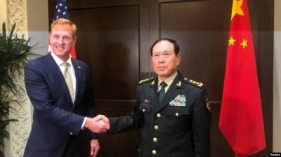 چین اورامریکہ کے وزرائے دفاع میں ملاقات، فوجی تعاون پر تبادلہ خیال