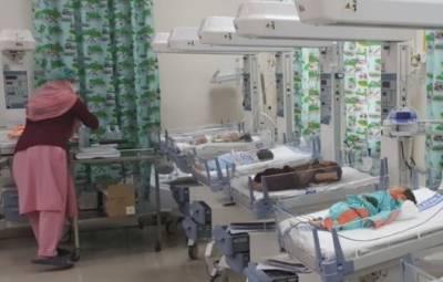 ساہیوال: سرکاری اسپتال کے چلڈرن وارڈ میں اے سی خراب ہونے سے 5 بچے جاں بحق