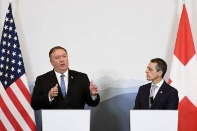 امریکا ایران کے تخریبی کردار پر قابو پانے کے لیے اپنا کام جاری رکھے گا۔مائیک پومپیو