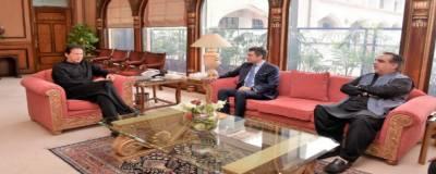 گورنرسندھ کی وزیراعظم سے ملاقات، گرین لائن بس سروس سے متعلق امور پر تبادلہ خیال