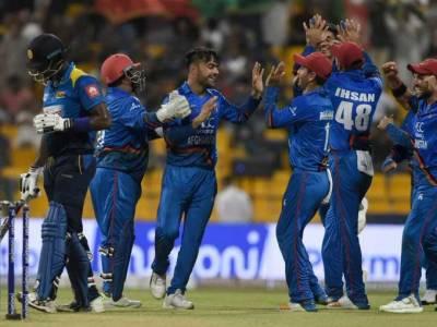 عالمی کرکٹ کپ کے ساتویں میچ میں آج کارڈف میں افغانستان کامقابلہ سری لنکاسے ہوگا