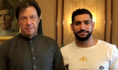 وزیراعظم عمران خان، عامر خان کا باکسنگ میچ دیکھنے کیلئے سعودی عرب جائیں گے؟