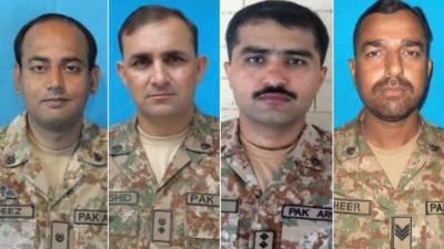 شمالی وزیرستان: ایک دھماکے میں پاک فوج کے تین افسر اور ایک جوان شہید