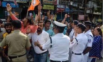 بھارت: حریف سیاسی جماعتوں کے درمیان کشیدگی، 4 افراد ہلاک، اٹھارہ زخمی