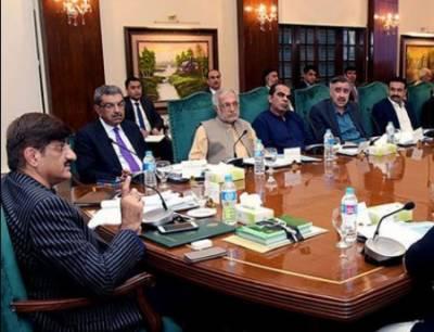 مراد علی شاہ نے سندھ کابینہ کا اہم اجلاس آج طلب کرلیا