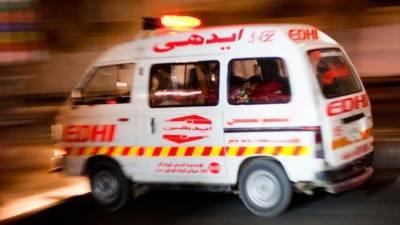 حافظ آباد:موٹروے پر ٹریفک حادثے میں5مسافر جاں بحق
