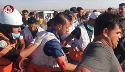 اسرائیلی فوج کی فائرنگ سے زخمی ہونے والا فلسطینی امدادی کارکن شہید