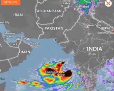 طوفان وایو کے آج بھارتی ساحل سے ٹکرائے جانے کا امکان
