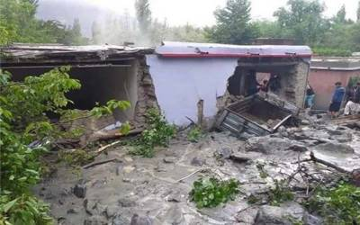 گلگت بلتستان :بارش نے تباہی مچادی،باپ بیٹا جاں بحق
