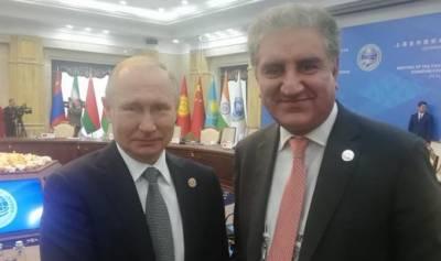 پاکستان روس کیساتھ تعاون کی نئی جہت کو فروغ دینا چاہتا ہے، وزیرخارجہ