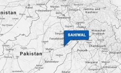 ساہیوال: تلاشی کی کارروائی کے دوران8 مشتبہ افراد گرفتار