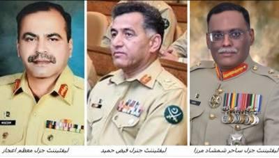 پاک فوج میں تقرریاں و تبادلے، لیفٹیننٹ جنرل فیض حمید ڈی جی آئی ایس آئی تعینات