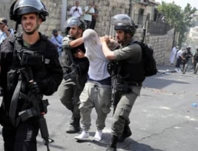 اسرائیلی فوج کے مظالم، درجنوں نہتے فلسطینی گرفتار