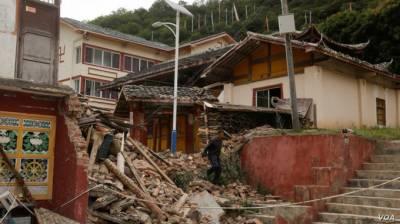 چین میں زلزلے سے11 افراد ہلاک اور 122 زخمی ہو گئے۔