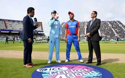 انگلینڈ کا افغانستان کے خلاف ٹاس جیت کر پہلے بیٹنگ کا فیصلہ