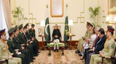 صدرعلوی کاچین کیساتھ دوطرفہ تعلقات کوتمام شعبوں میں نئی بلندیوں تک لے جانے کیلئے پاکستان کے پختہ عزم کااعادہ