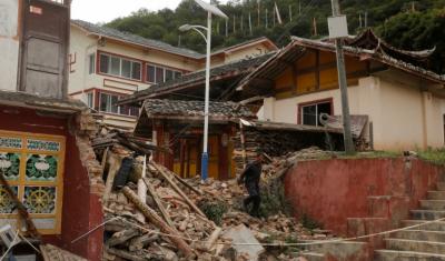 چین:زلزلے کے باعث 11 افراد ہلاک،75 زخمی