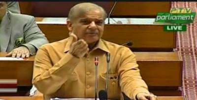 قومی اسمبلی اجلاس: اپوزیشن لیڈر شہباز شریف نے بجٹ مسترد کر دیا