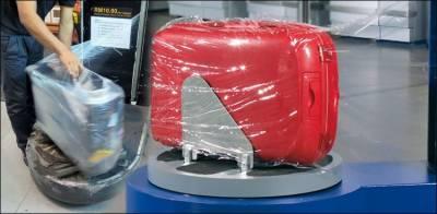 بیرون ملک جانے والے مسافروں کے سامان کیلئے پلاسٹک ریپنگ لازمی قرار