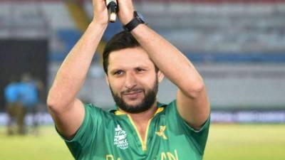 شاہد آفریدی نے عوام سے قومی ٹیم کو سپورٹ کرنے کی اپیل کردی۔