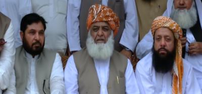 فضل الرحمان کا پورے ملک میں ملین مارچ کرنے کا اعلان