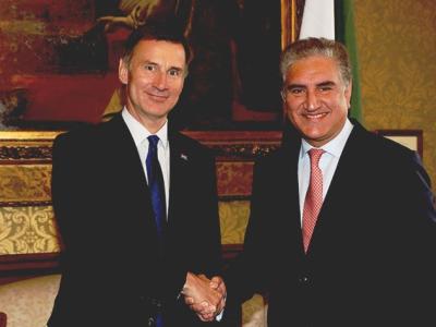 پاکستان اور برطانیہ کے درمیان تعلقات عشروں پر محیط ہیں، برطانوی وزیرخارجہ