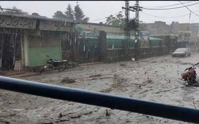 بلوچستان: ہرنائی میں بارش اور لینڈ سلائیڈنگ ، ندی نالوں میں طغیانی آگئی ،ٹریفک معطل