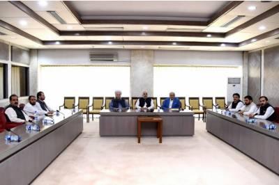 سپیکر قومی اسمبلی اسد قیصر سے قبائلی اضلاع کے ارکان کی ملاقات