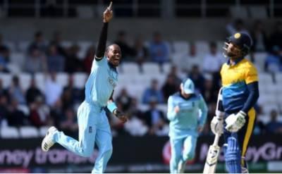 ورلڈ کپ 2019: سری لنکا کا انگلینڈ کو 233رنز کا ہدف