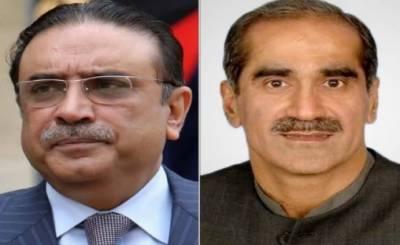نیب مقدمات میں گرفتار رہنمائوں آصف علی زرداری اور خواجہ سعد رفیق کے درمیان اہم ملاقات