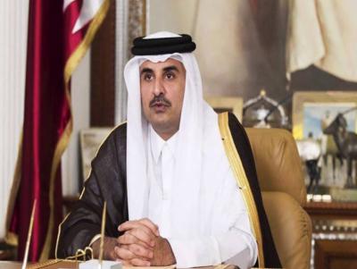 امیر قطر شیخ تمیم بن حمدالثانی 2 روزہ دورے پاکستان پہنچ گئے