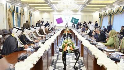 پاکستان اور قطر کا دفاع سمیت مختلف شعبوں میں دوطرفہ تعاون کے فروغ پر اتفاق