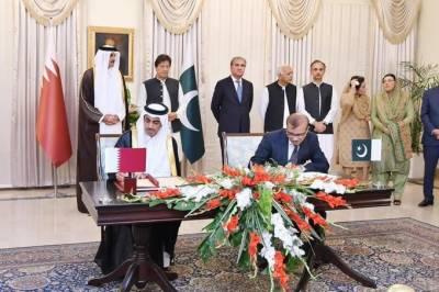 پاکستان اور قطرکے باہمی تعاون کو فروغ دینے کیلئے تین مختلف یاداشتوں پر دستخط
