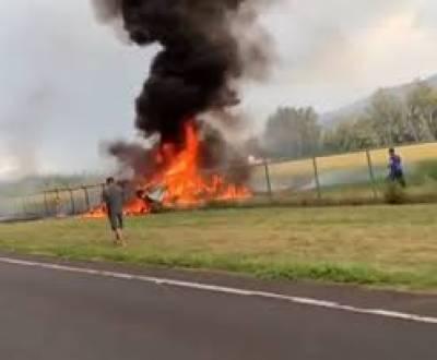 امریکا میں طیارہ حادثے کا شکار، 11 کرتب باز ہلاک