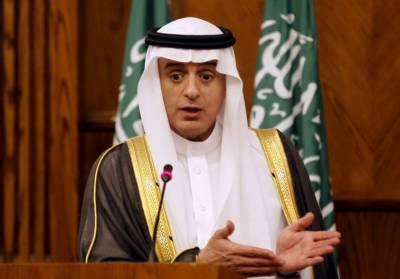 جس امن پروگرام پر فلسطینی متفق ہوں اسےعرب ممالک بھی قبول کریں گے۔ عادل الجبیر
