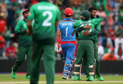 ورلڈکپ؛ بنگلادیش نے افغانستان کو شکست دیدی