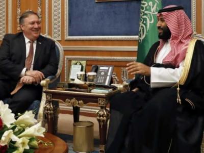 ایران سے کشیدگی، امریکی وزیر خارجہ کی شاہ سلمان سے ملاقات