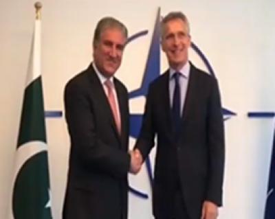 وزیر خارجہ کی جنرل سیکرٹری نیٹو سے ملاقات، اہم امور پر گفتگو