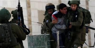 اسرائیلی فوج کے مظالم، مزید 17 نہتے فلسطینیوں کو گرفتار کرلیا گیا