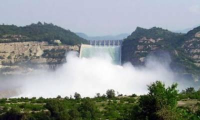 تربیلا، منگلا اور چشمہ ریزو واٹر میں مجموعی ذخیرہ 16لاکھ 74ہزار ایکڑ فٹ ہے۔ ترجمان واپڈا