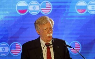 ایران بیلسٹک میزائل اور جوہری ہتھیار حاصل کرکے تباہی کا سامان کررہا ہے۔ جان بولٹن