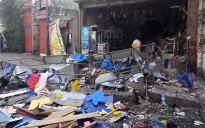 لاہور : اچھرہ میں بیکری میں سلنڈر دھماکہ ، ایک شخص جاں بحق گیارہ زخمی
