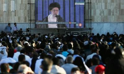 امریکا جنگوں، تنازعات اور لوٹ مار کی کارروائیوں کا ماخذ ہے، ایرانی سپریم لیڈر