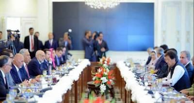 وزیراعظم،افغان صدر کا مختلف شعبوںمیں دوطرفہ تعاون اور علاقائی صورتحال پر تبادلہ خیال
