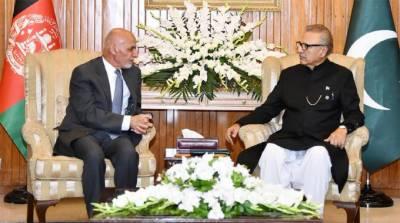 صدرکاافغانستان کیساتھ تمام شعبوں تعاون کے ذریعے تعلقات کیلئے پاکستان کےعزم کااعادہ